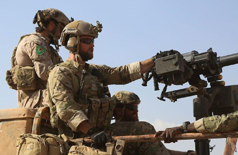 Американские базы в сирийском Курдистане