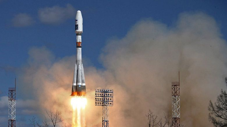запуск союза с космодрома #10