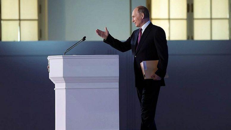 реакция запада на послание путина сегодня