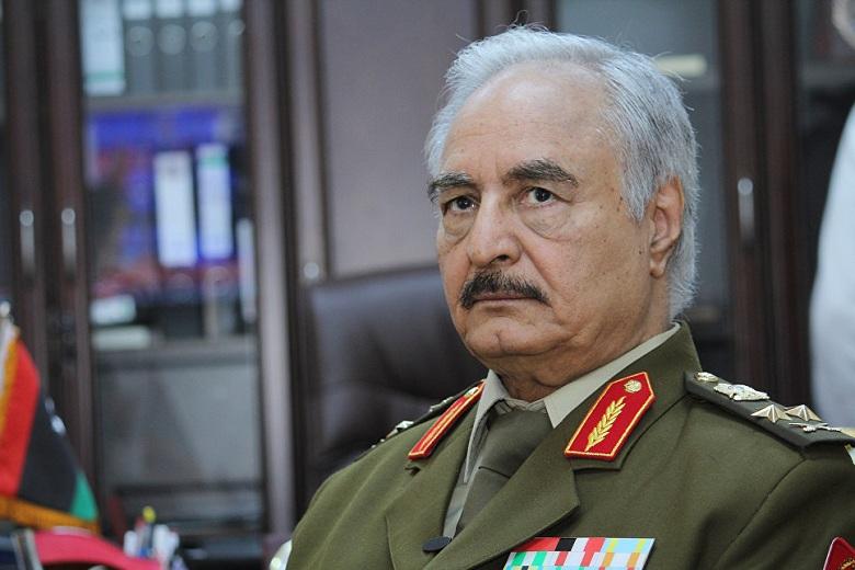 Хафтар назвал условия для прекращения боев в Ливии