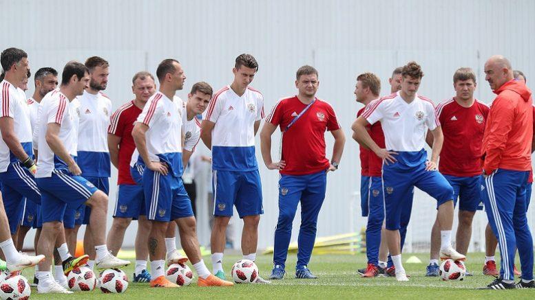 Сборная россии по футболу занявшей